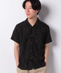 JNSJNM/【BLUE STANDARD】レーヨンオープンカラーシャツ/502281078