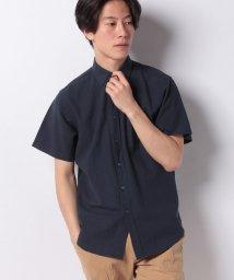 JNSJNM/【BLUE STANDARD】リネンミックス半袖シャツ/502288173