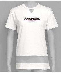 ANAP GiRL/チュール切替チュニック/502293094