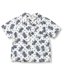 RADCHAP/パイナップル柄オープンカラー半袖シャツ/502299013