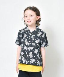 RADCHAP/パイナップル柄オープンカラー半袖シャツ(90~140cm)/502299013