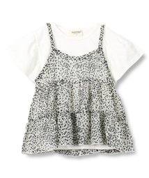 RADCHAP/ヒョウ柄キャミ付Tシャツ(80~140cm)/502299014