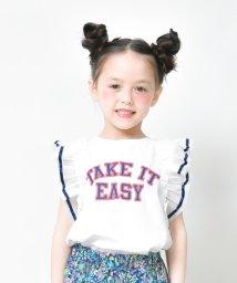 RADCHAP/袖フリルTシャツ/502299015