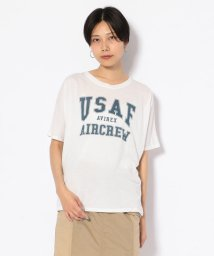 AVIREX/#ドルマンスリーブ ロゴ ティーシャツ/ S/S DOLMAN SLEEVES LOGO T-SHIRT/502301235