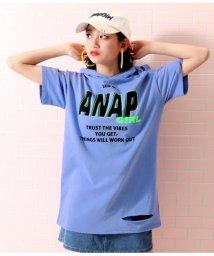 ANAP GiRL/クラッシュフーディーワンピース/502301347