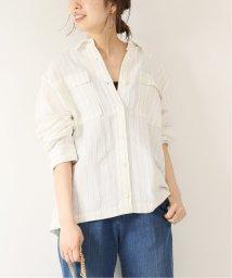 Spick & Span/ストライプ ダブルポケットシャツ◆/502301892