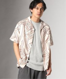 JOURNAL STANDARD/GEOM PATTERN PRINT OPEN シャツ/502303017