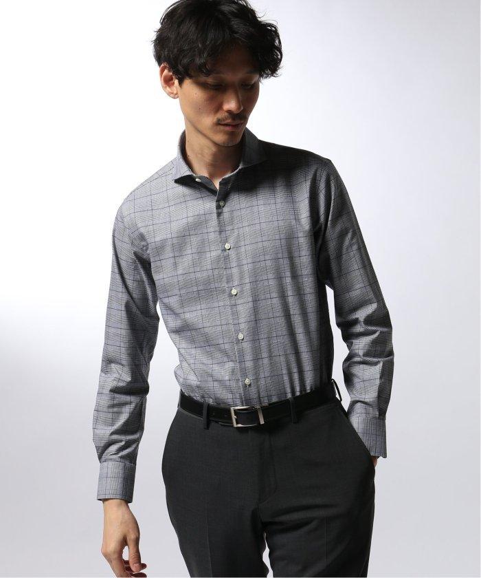 FUNCTION グレンチェック シャツ