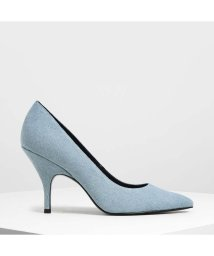 CHARLES & KEITH/クラシック カバードパンプス / Classic Covered Pumps (Light Blue)/502303574