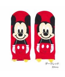 Disney/【福助】 ディズニー Disney DISNEYスタンパペットFスニーカー23/25 (Dレッド)/502303633