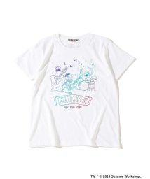 Ray BEAMS/<WOMEN>FUJI ROCK FESTIVAL'19 × Ray BEAMS / SESAME STREET 3ピース Tシャツ/502303734