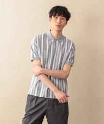 MACKINTOSH PHILOSOPHY/【WEB限定】サーフニットストライプ MPポロシャツ/501983344