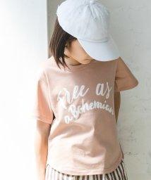 Coucou Manon/プリント半袖ショートスリーブTシャツ/502019628