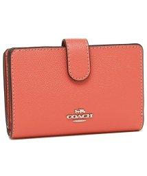COACH/COACH 財布 アウトレット コーチ F11484 クロスグレイン ミディアム コーナー ジップウォレット 二つ折り財布/502045138