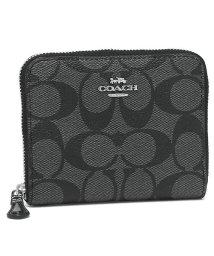 COACH/コーチ 財布 アウトレット COACH F30308 IME74 シグネチャー スモール ジップ アラウンド ウォレット レディース 二つ折り財布/502045149