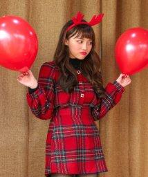 sonyunara/SONYUNARA(ソニョナラ)PARTY RED/チェックブラウス/502282985
