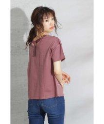 PROPORTION BODY DRESSING/バックシャンルーズTシャツ/502292478