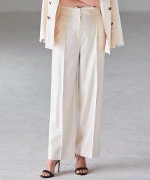 iCB/【洗える】Linen Kersey パンツ/502303880