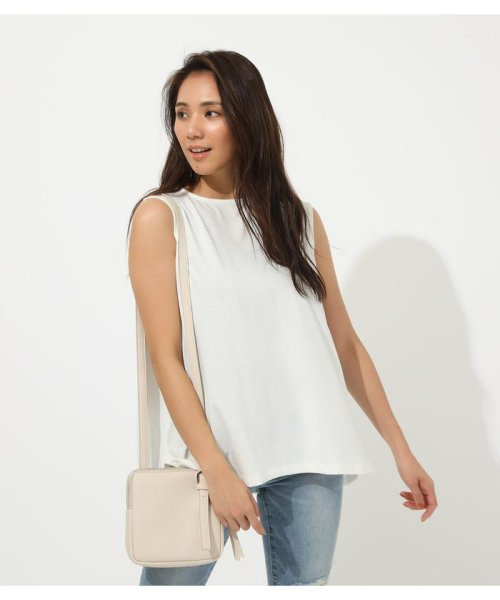 AZUL by moussy(アズールバイマウジー)/ICE CLEAN BACK TUCK TANK/250CSH80-347D