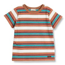 branshes/【吸水速乾】マルチボーダー半袖Tシャツ(80~150cm)/502304388