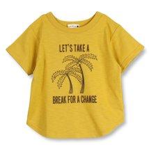 branshes/【吸水速乾】ヤシの木プリント半袖Tシャツ(80~150cm)/502304389