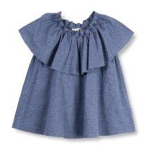 branshes/【吸水速乾】胸元フリル半袖Tシャツ(80~150cm)/502304392