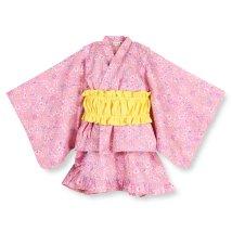 branshes/小花柄セパレート浴衣(90~120cm)/502304400