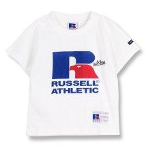 RADCHAP/【RUSSELL ATHLETIC×RADCHAP】ロゴTシャツ/502304403