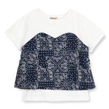 RADCHAP/ビスチェ風半袖Tシャツ(80~140cm)/502304408