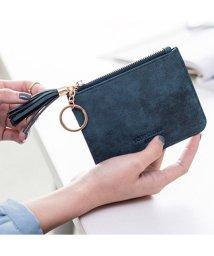 maison de LATIR/キーリングにもなるタッセルがワンポイントのシンプル小銭入れ。/502305953