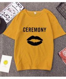 maison de LATIR/カジュアル感あふれるラウンドネックの半袖Tシャツ。/502305965