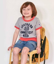 HusHush(Kids)/【Champion】100-140cm 裾リブTシャツ/502306071