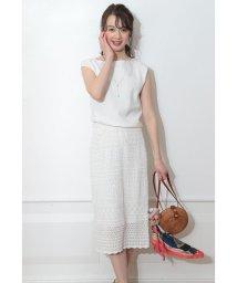JUSGLITTY/かぎ編みスカートSET UP/502306203