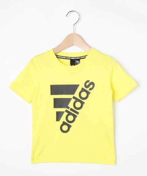 HusHush(Kids)(ハッシュアッシュ(キッズ))/【110-160cm】adidas ラバーロゴTシャツ(一部店舗・WEB限定)/99990951211011