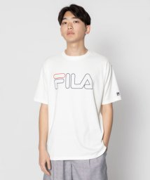 SENSE OF PLACE/FILA 別注ロゴTシャツ(5分袖)/502306455