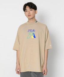SENSE OF PLACE/FILA 別注ビッグTシャツ(5分袖)/502306456