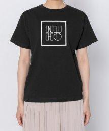 SENSE OF PLACE/モノトーンボックスロゴTシャツ(半袖)/502306458