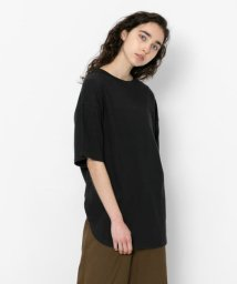 SENSE OF PLACE/ラウンドヘムビッグTシャツ(半袖)/502306463