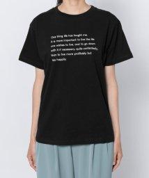 SENSE OF PLACE/レタリングロゴTシャツ(半袖)/502306466