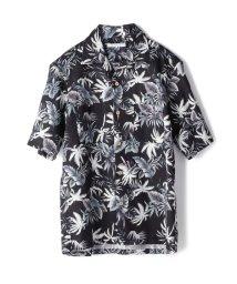 RATTLE TRAP/トロピカル柄オープンカラーシャツ/501973249