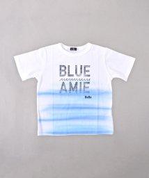 BeBe/BIGシルエットエアブラシプリントTシャツ/502039626
