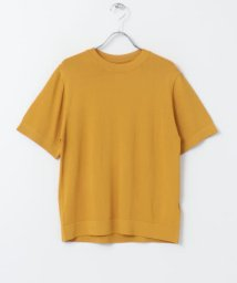 SENSE OF PLACE/クルーネックセーター(5分袖)/502250963