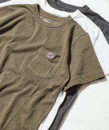 coen/ピグメントダイワッペンポケットTシャツ/502294634