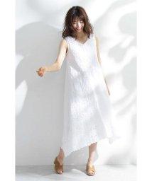 PROPORTION BODY DRESSING/◆コットンレースバックリボンワンピース/502304063