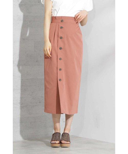 PROPORTION BODY DRESSING(プロポーション ボディドレッシング)/《EDIT COLOGNE》フロントボタンロングタイトスカート/1219127502