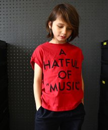 GROOVY COLORS/テンジク A HATFUL OF MUSIC TEE/502307501