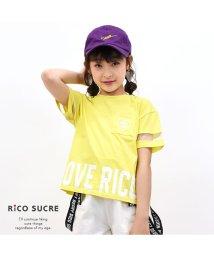 RiCO SUCRE/袖メッシュTシャツ/502307564