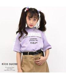 RiCO SUCRE/ハイネックサイドラインTシャツ/502307568