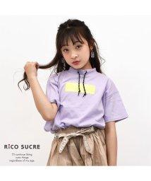 RiCO SUCRE/ボックスロゴビッグTシャツ/502307572
