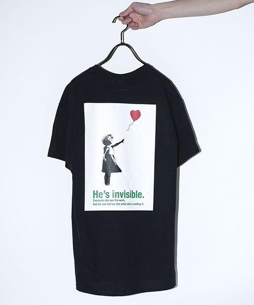 """BKS""""Ballon Girl"""" Tシャツ"""